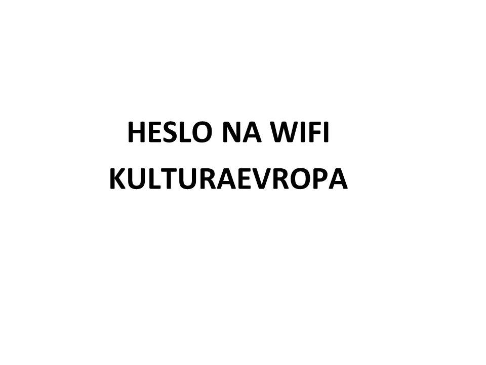 HESLO NA WIFI KULTURAEVROPA