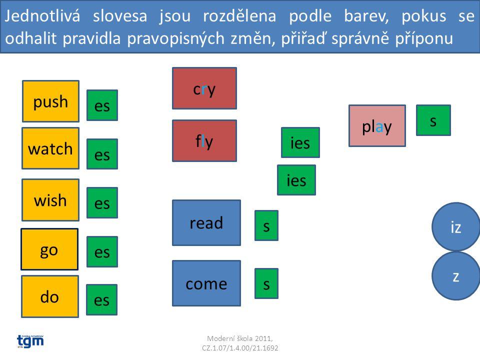 Doplň správný tvar slovesa I………(play) computer games on Mondays.
