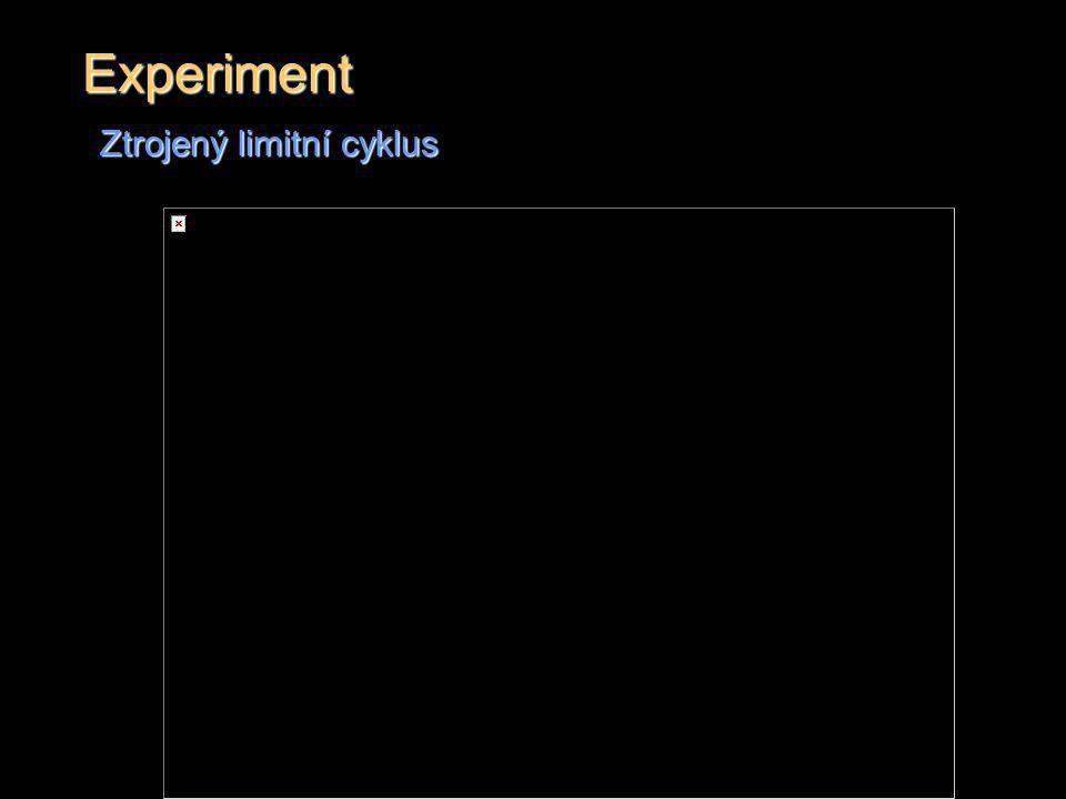 Experiment Ztrojený limitní cyklus