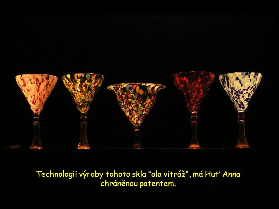 Krásné originální výrobky máme také z Huti Anna v Bělé.