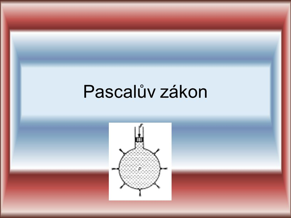 Pascalův zákon