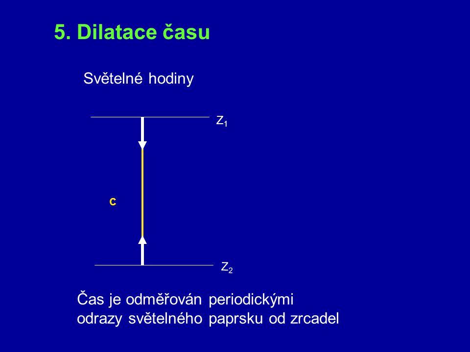 Úkol: Rozhodněte, které z následujících výroků jsou správné: Řešení: 1.Soumístnost událostí je podle klasické fyziky absolutní pojem. NE 2.Současnost