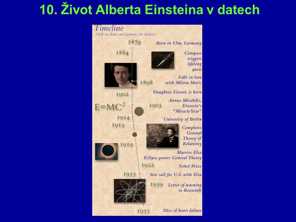 Odvození vztahu pro kinetickou energii: Celková energie pohybujícího se tělesa: E = E 0 + E k E k = E – E 0 = mc 2 - m 0 c 2
