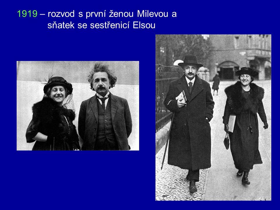 1905 – uveřejnil v německém časopise Annalen der Physik práci K elektrodynamice pohybujících se těles, která obsahuje základní principy STR bylo mu te