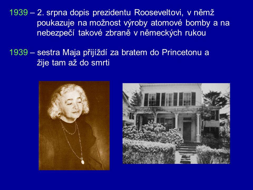 1936 – smrt druhé ženy Elsy