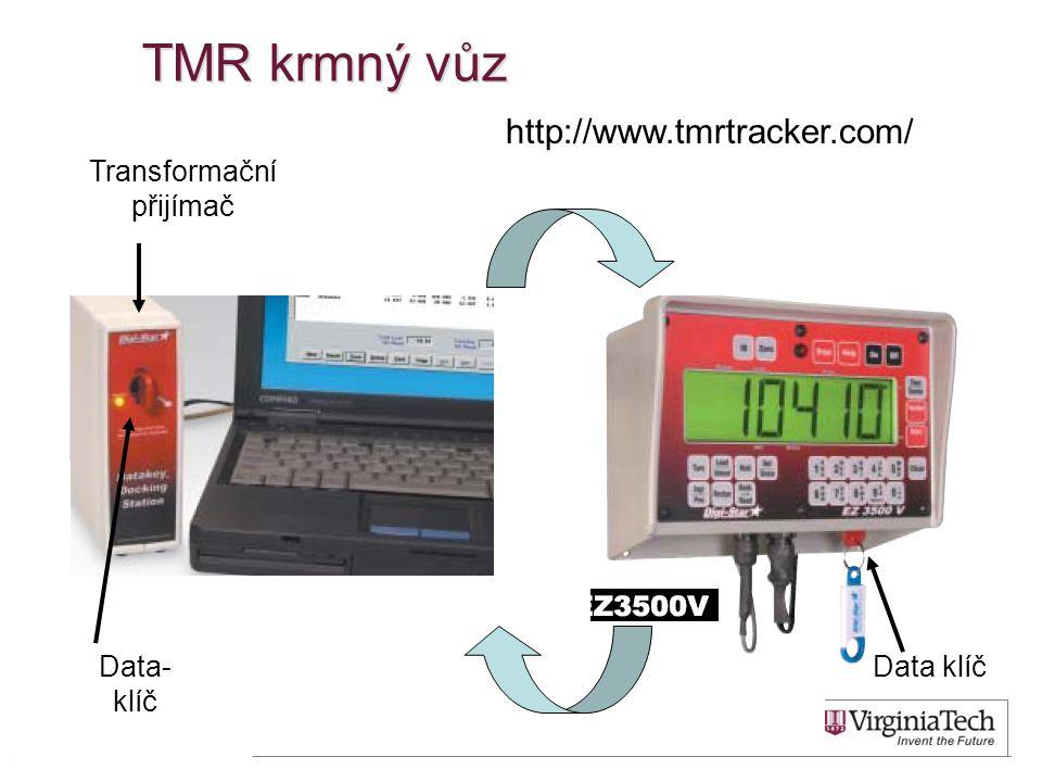 TMR krmný vůz Transformační přijímač Data klíčData- klíč http://www.tmrtracker.com/