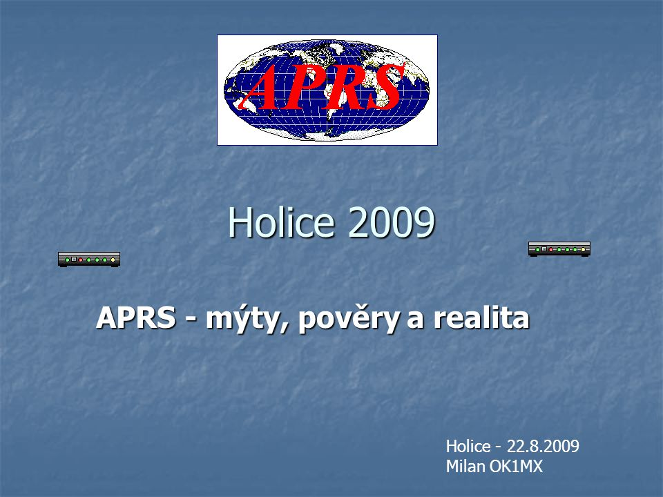Co je to APRS.