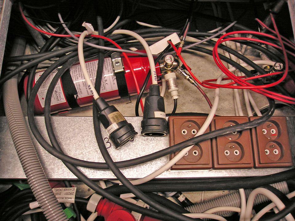 Vybavení datového centra11 Požární bezpečnost – hašení pod podlahou