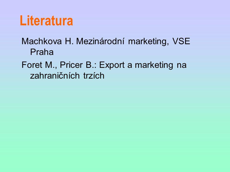 Literatura Machkova H.