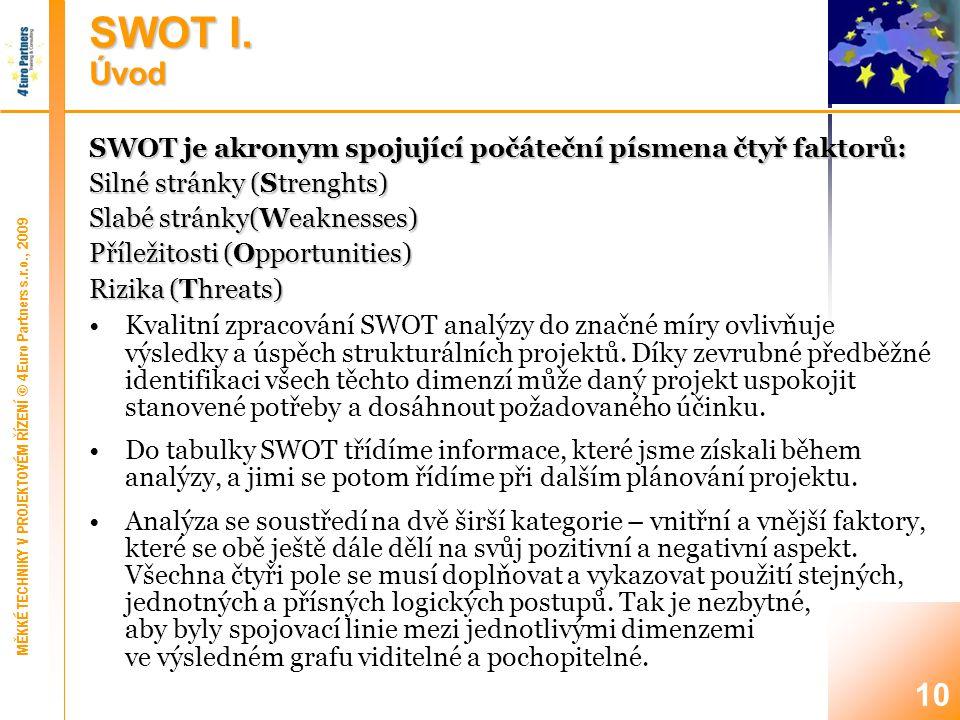 10 SWOT I.