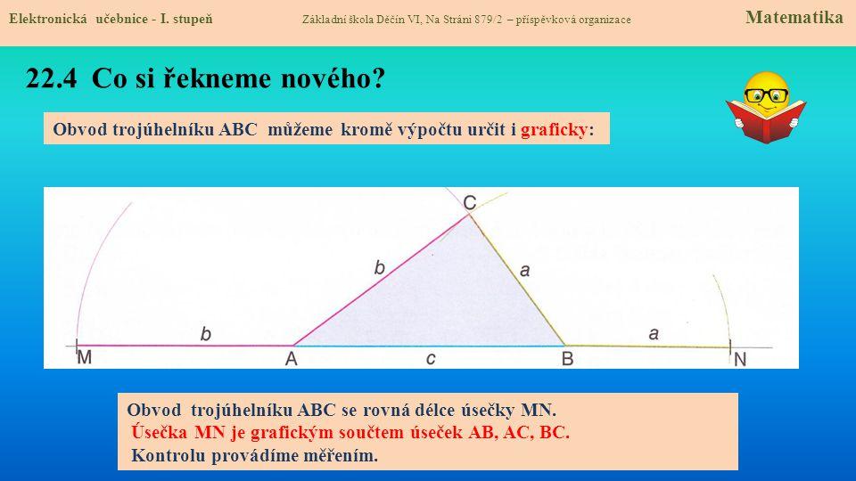 22.5 Procvičení a příklady Elektronická učebnice - I.