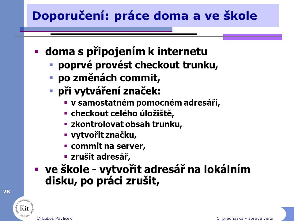 28 © Luboš Pavlíček1.
