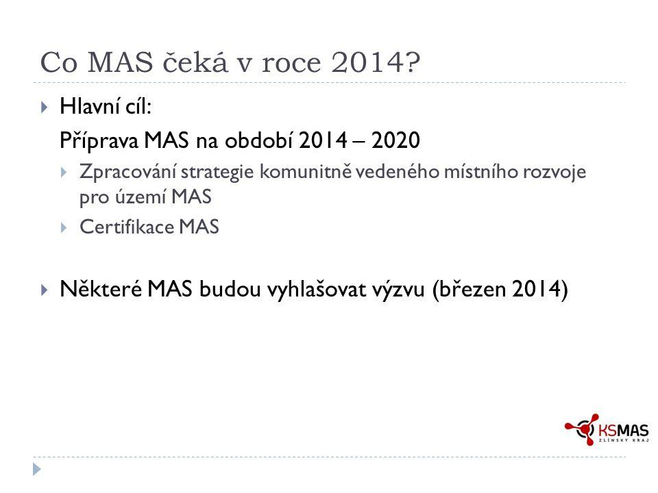 Co MAS čeká v roce 2014.