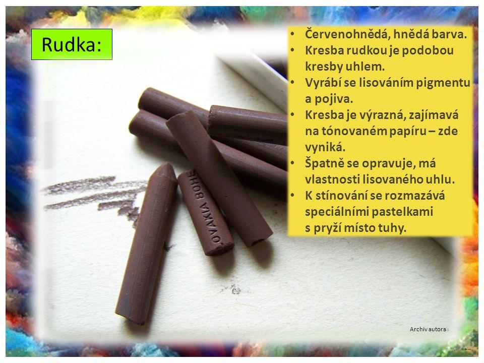 ©c.zuk Archiv autora Rudka: Archiv autora Červenohnědá, hnědá barva.