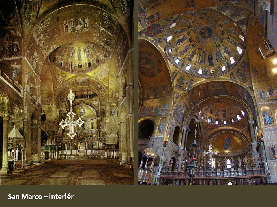 San Marco – interiér