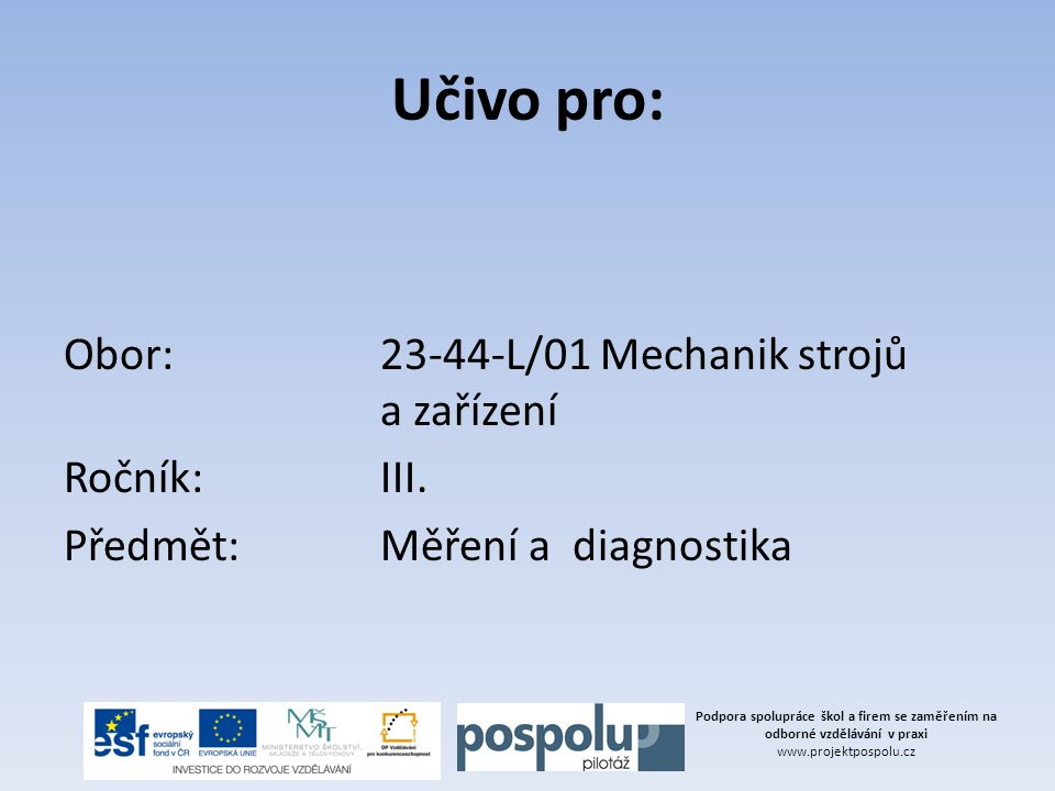 Představení společnosti Firma MESIT Ronex, spol.s.r o.