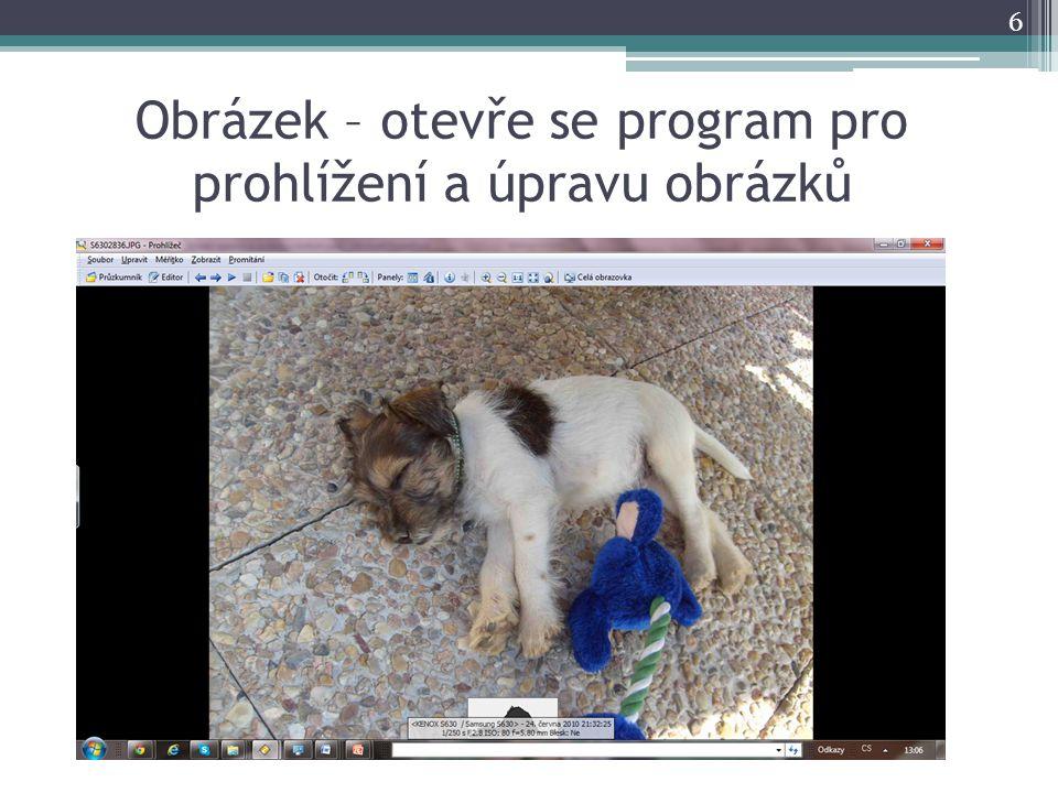 Obrázek – otevře se program pro prohlížení a úpravu obrázků 6