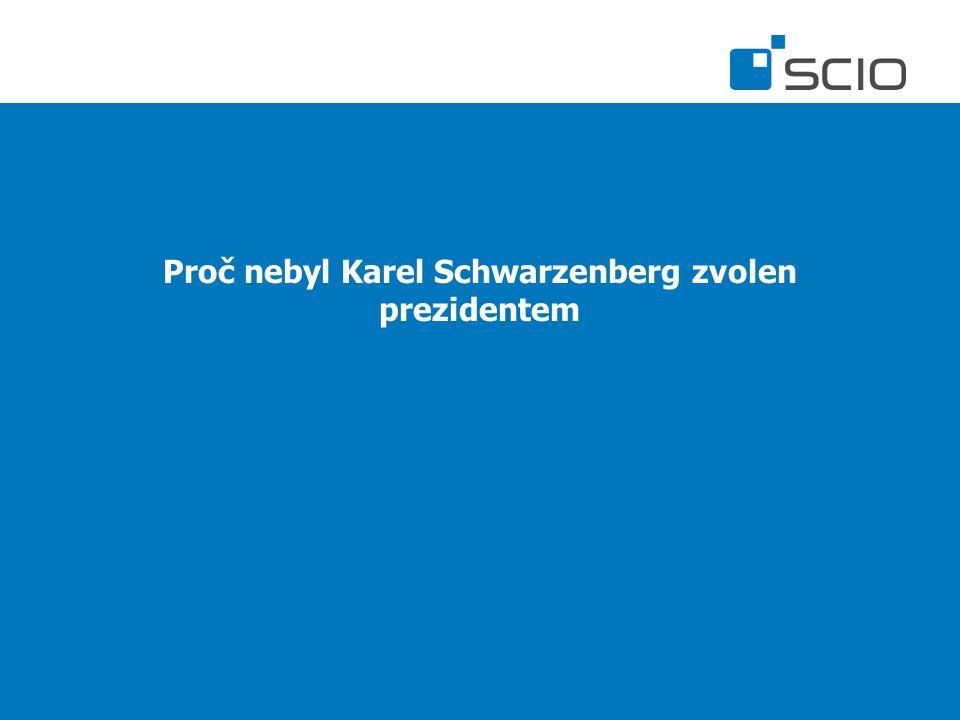 Proč nebyl Karel Schwarzenberg zvolen prezidentem