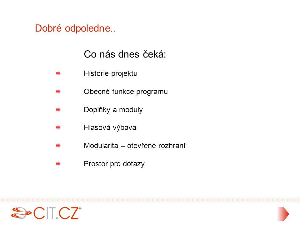 Děkuji za Vaši pozornost .Kontakt: Jiří kříž Email: jk@cit.cz Tel.:283 890 777 CIT.CZ, spol.