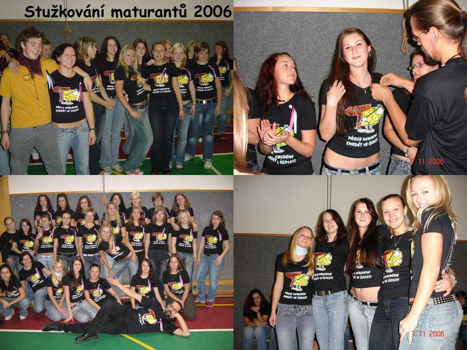 Stužkování maturantů 2006