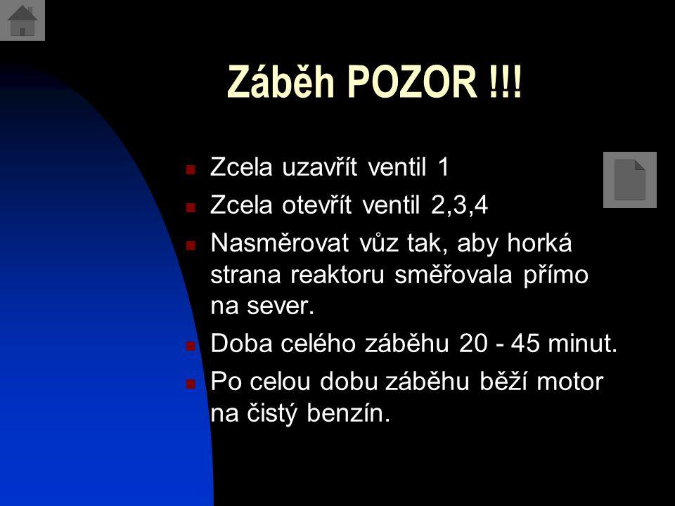 Záběh POZOR !!.