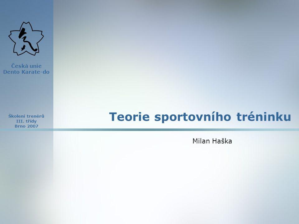 Školení trenérů III.