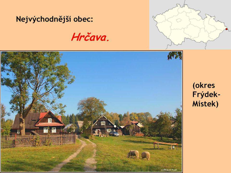 České město s nejkratším názvem: Aš. (okres Cheb)