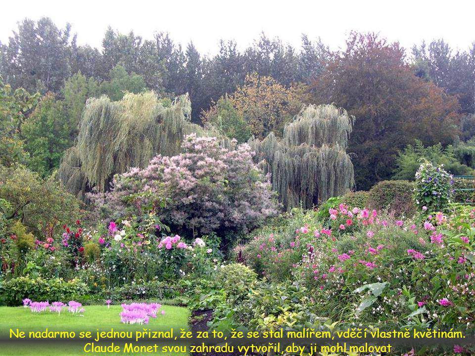 Inspirovala je zahrada, kterou vytvořil malíř, nazývaný