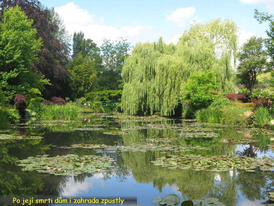Po Monetově smrti dům zdědil jeho syn Michel, ten zde však nebydlel. O dům i o zahradu se starala Monetova nevlastní dcera