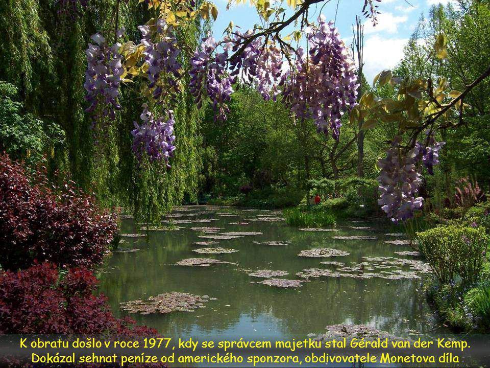 V roce 1966 Michel Monet kapituloval a přenechal nemovitost i s pozemkem francouzské Akademii výtvarných umění