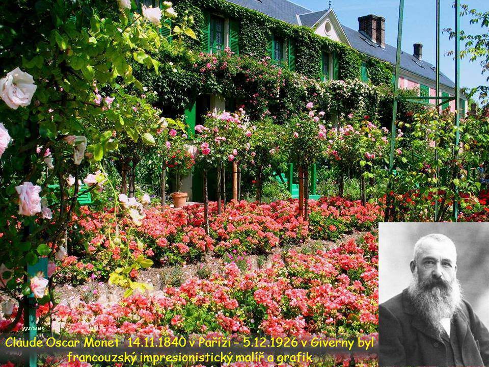 V průběhu 19. st. začala Evropa objevovat květinové zahrady.