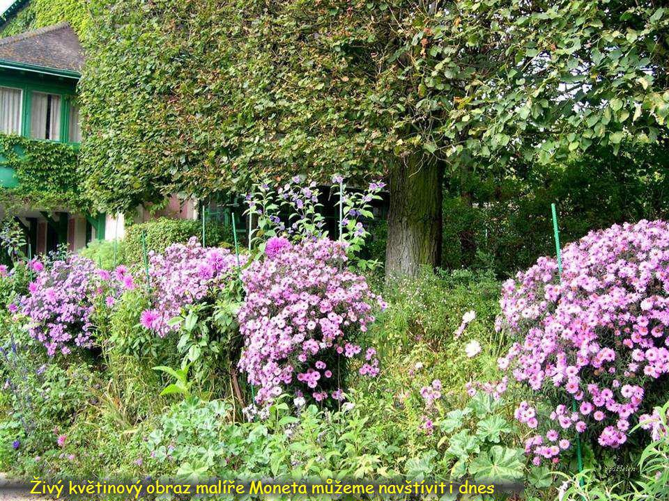 Claude Oscar Monet 14.11.1840 v Paříži – 5.12.1926 v Giverny byl francouzský impresionistický malíř a grafik