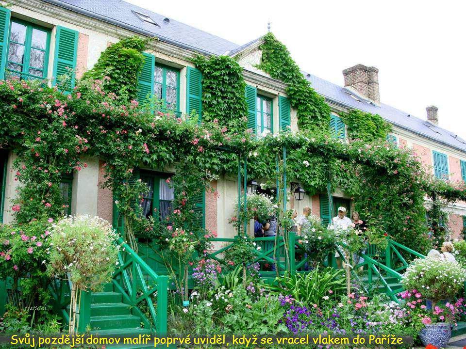 Živý květinový obraz malíře Moneta můžeme navštívit i dnes