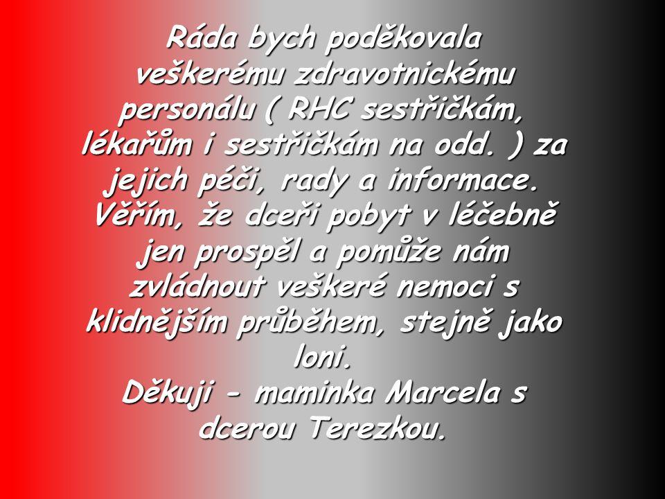 Posun prezentace jde automaticky se zvukem. Dětská léčebna C V I K O V 3.1. - 13. 2. 2010 www.dlcvikov.cz