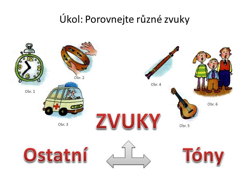 Vlastnosti tónů Autorem materiálu a všech jeho částí, není-li uvedeno jinak, je Monika Odehnalová.