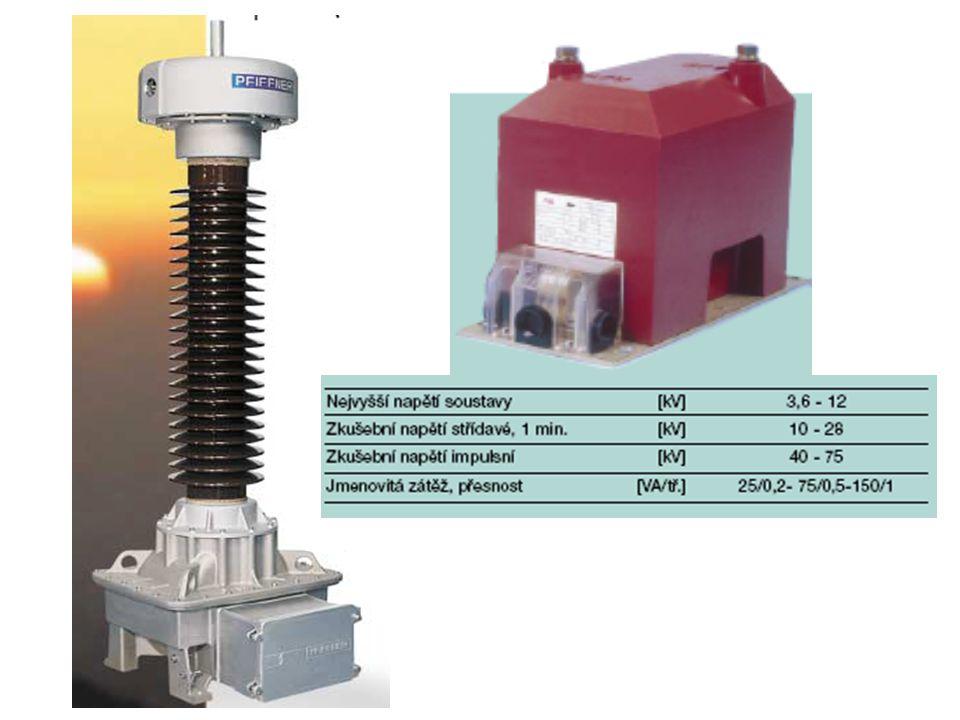 Přístrojový transformátor proudu U 21 I0I0 I 21 I1I1 ZK *nové označení svorek- vstup - P 1, P 2 - výstup - S 1, S 2 staré označení- vstup - K, L - výstup - k, l *na výstup se připojují přístroje s malým vnitřním odporem *jedná se o tvrdý zdroj proudu  výstupní svorky se nesmí rozpojit *výstupní proud je pro měření 5A, pro ochrany 1A I1I1 A L1L1 N P 1 (K) I 2 =1(5) A P 2 (L) S 1 (k) S 2 (l) I 1 – vnucený proud