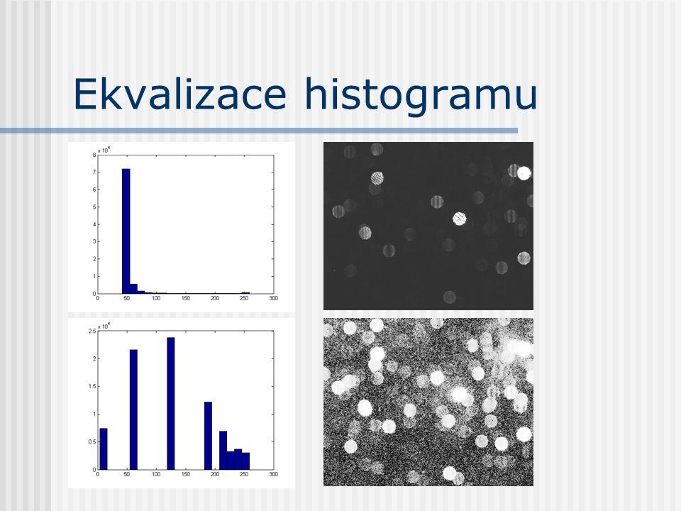 function R = ekvHist(Img) B = 255; % intenzita bile barvy Img = round(Img); Vel = length(Img(:)); % pocet pixelu v obrazku R = Img; % vysledny snimek S = 0; % pocet zpracovanych pixelu for K = 0 : B % prochazime pixely pres intenzity W = (Img == K); % pixely s intenzitou K P = sum (W(:)); % pocet techto pixelu R(W) = round(B * (S + P/2) / Vel); % jakou intenzitu jim priradime S = S + P; % pocet zpracovanych pixelu end