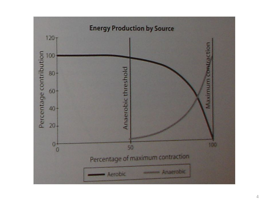 Aerobní systém – používá cukry a tuky – generuje málo odpadních látek – tělo zvládá přepravit jen určité množství kyslíku (lokálně předloktí) -> poté vzniká kyslíkový dluh -> nástup anaerobního systému (kyselina mléčná atd.) – anaerobní práh – pokud se chceme zbavit kyslíkového dluhu a kyseliny mléčné musíme snížit intenzitu 5