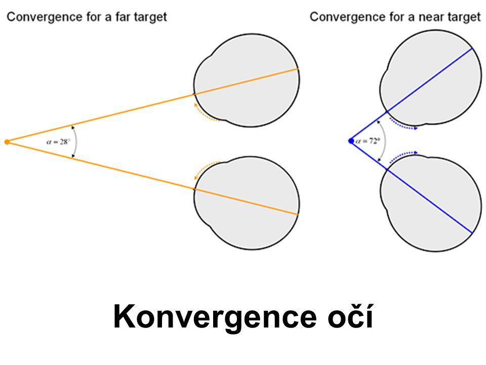 Konvergence očí