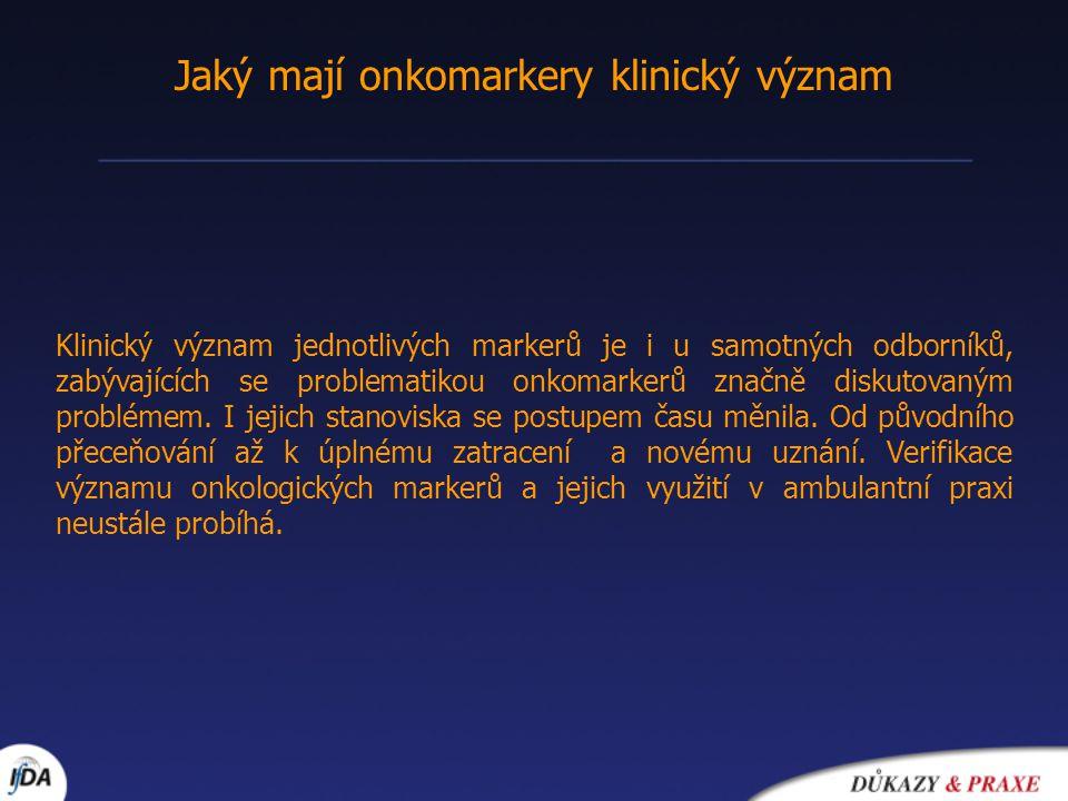 Statistické pojmy pro klinické hodnocení 1.