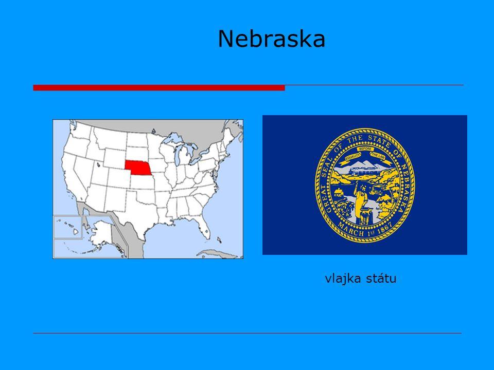 Nebraska vlajka státu