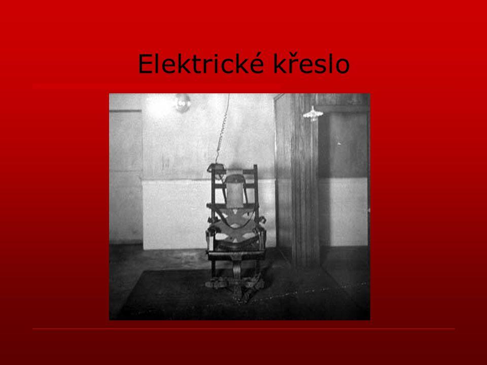 Elektrické křeslo