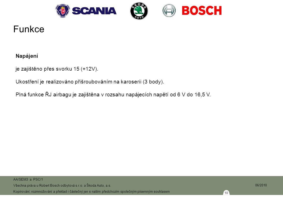 10 AA/SEM3 a PSC/1 Všechna práva u Robert Bosch odbytová s.r.o.