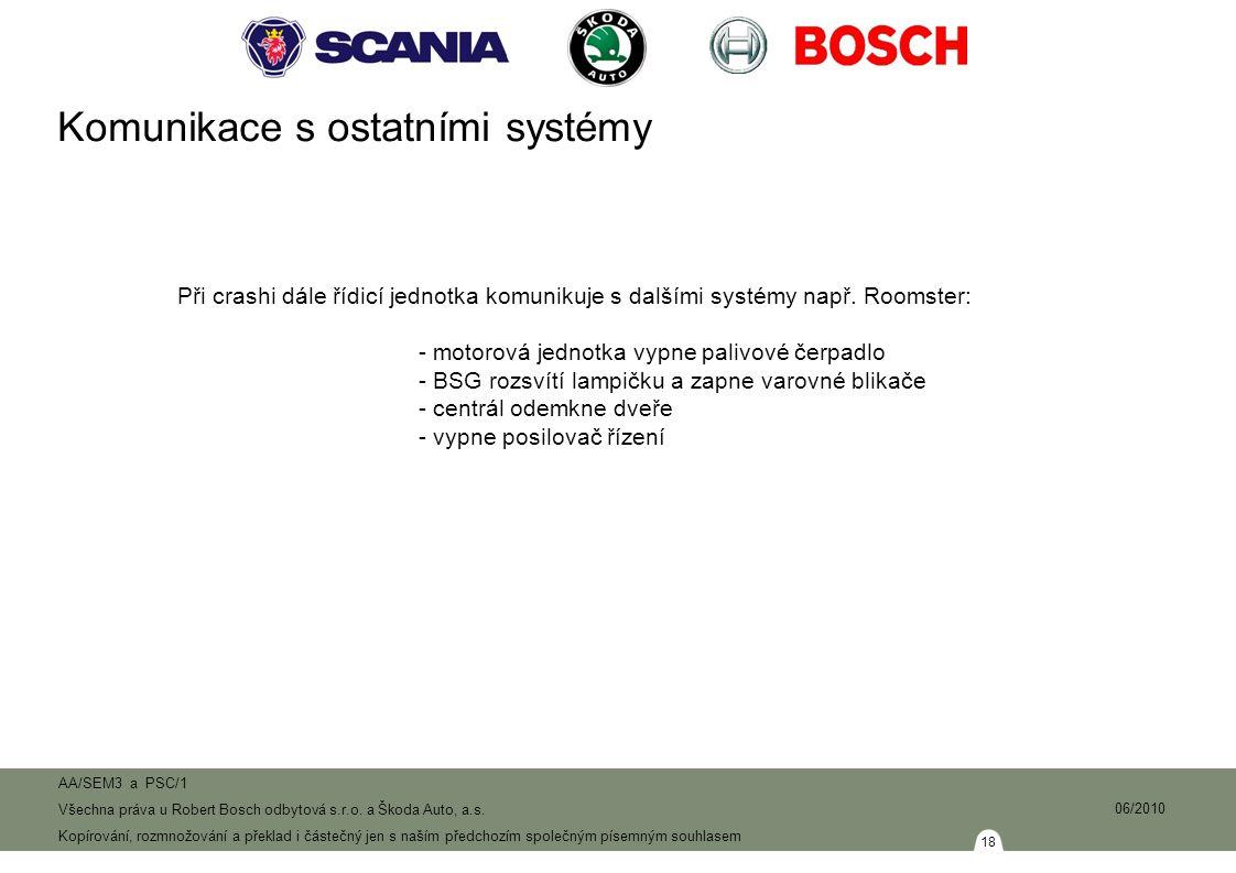 18 AA/SEM3 a PSC/1 Všechna práva u Robert Bosch odbytová s.r.o.