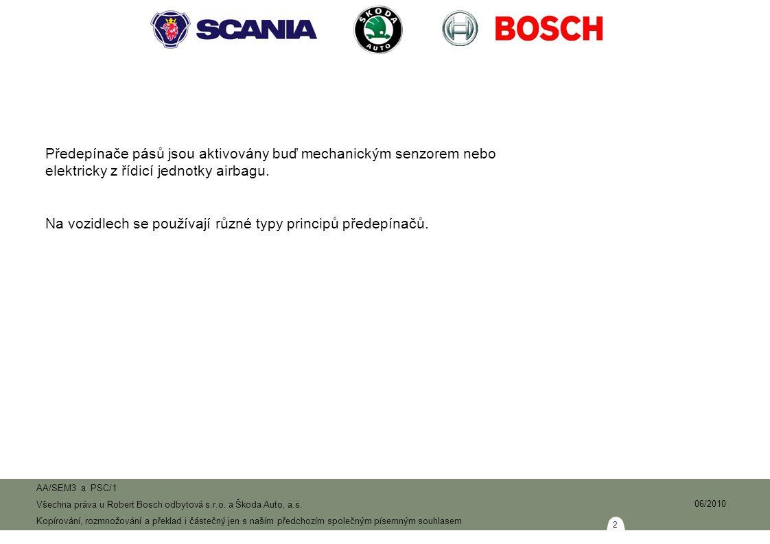 33 AA/SEM3 a PSC/1 Všechna práva u Robert Bosch odbytová s.r.o.