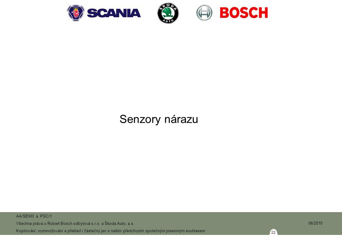 22 AA/SEM3 a PSC/1 Všechna práva u Robert Bosch odbytová s.r.o.