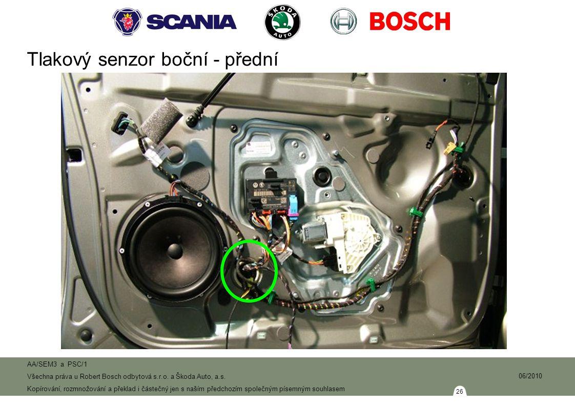 26 AA/SEM3 a PSC/1 Všechna práva u Robert Bosch odbytová s.r.o.