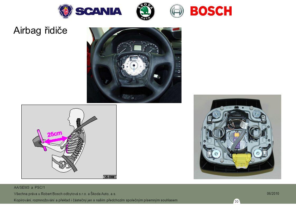 30 AA/SEM3 a PSC/1 Všechna práva u Robert Bosch odbytová s.r.o.