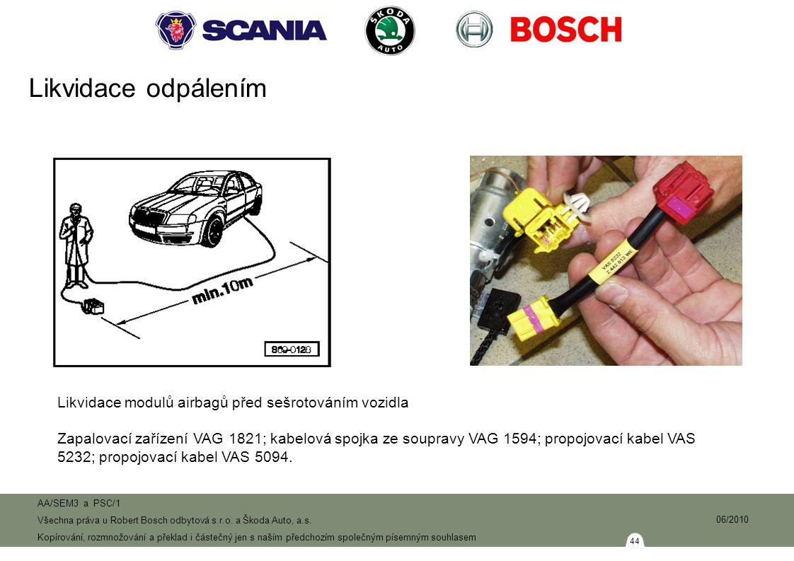 44 AA/SEM3 a PSC/1 Všechna práva u Robert Bosch odbytová s.r.o.