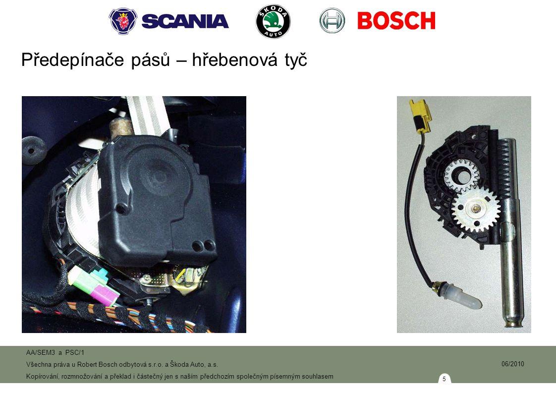 16 AA/SEM3 a PSC/1 Všechna práva u Robert Bosch odbytová s.r.o.